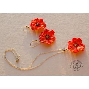 """Set """"Poppies"""""""